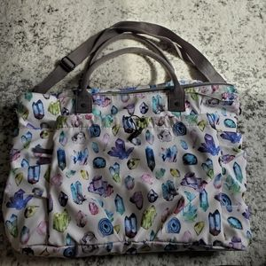 Large Yoga Bag Gem Print